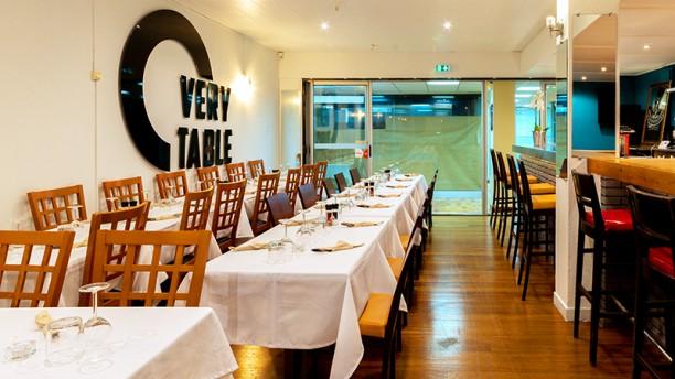 O very Table Mermoz Vue de la salle