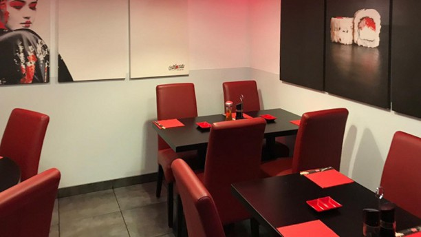 California Sushi Salle du restaurant