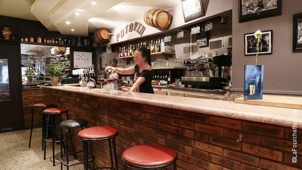 Le Potovin Bienvenue au restaurant Le Potovin