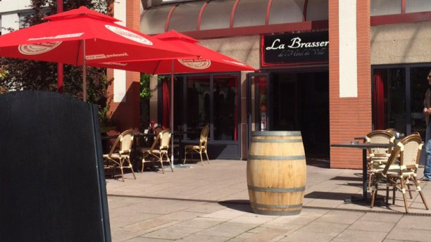 La Brasserie de l'Hôtel de Ville Terrasse