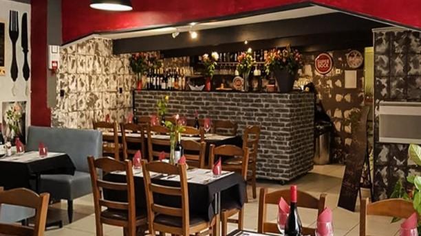 Chez Santos Salle du restaurant
