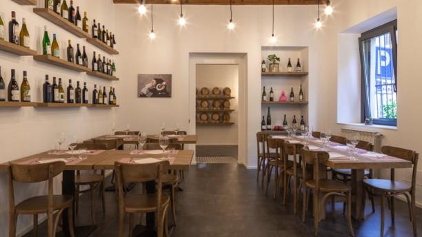 Vimercati Vineria con Cucina Vista della sala