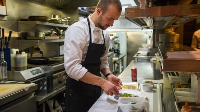 Lo chef al lavoro - Moma, Rome