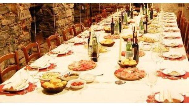 Albergo Centrale tavolo per eventi