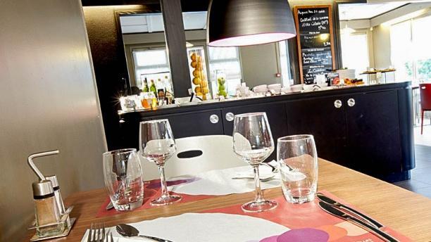 Campanile Montauban Vue d'une table
