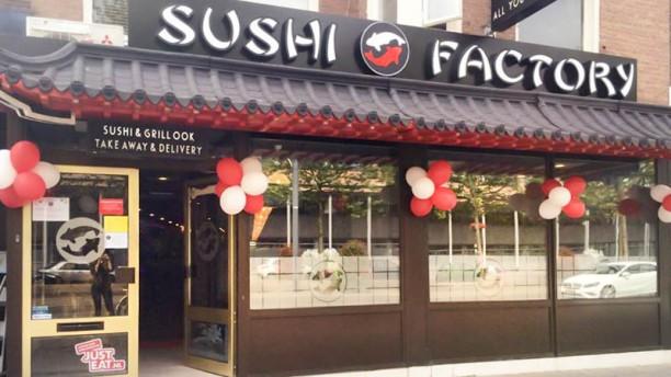 Sushi Factory ingang