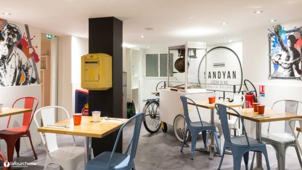 Sandyan Salle du restaurant