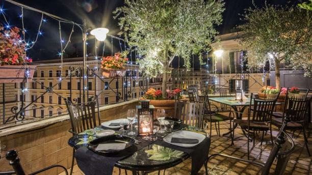 Terrazza Roof Garden Dei Consoli In Rome Restaurant