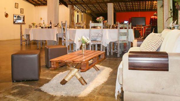 Cajueiro'S Bar & Restaurante Vista da sala