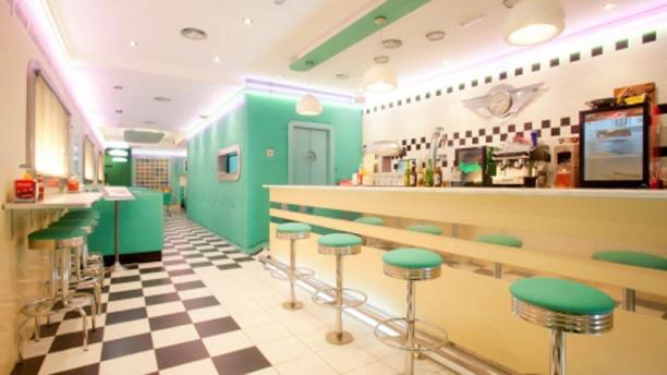 The Diner Vista sala