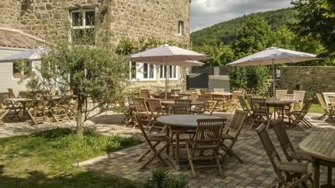 restaurant - La truffolie - Saint-Alban-d'Ay