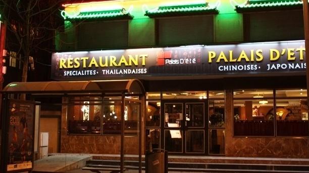 Restaurant Palais d'été Façade du restaurant