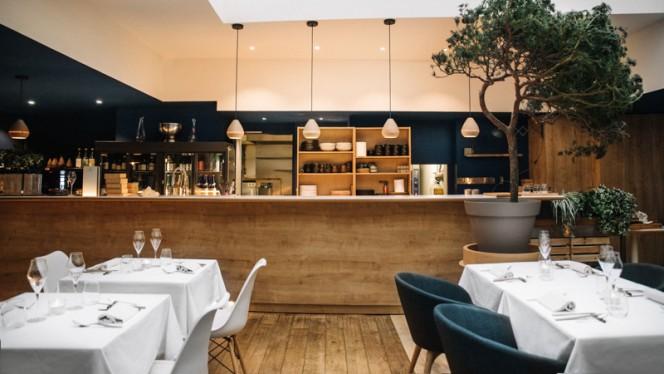 La salle principal - Restaurant ERH, Paris