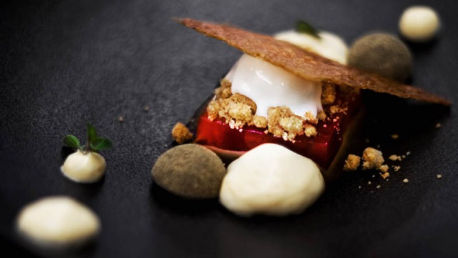 Suggestion de dessert - Restaurant ERH, Paris