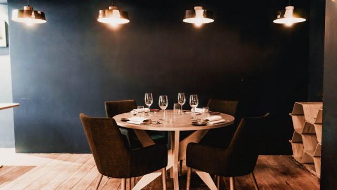 Vue de l'intérieur - Restaurant ERH, Paris