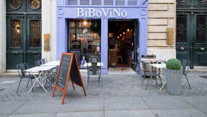 Devanture - BIBOVINO, Marseille