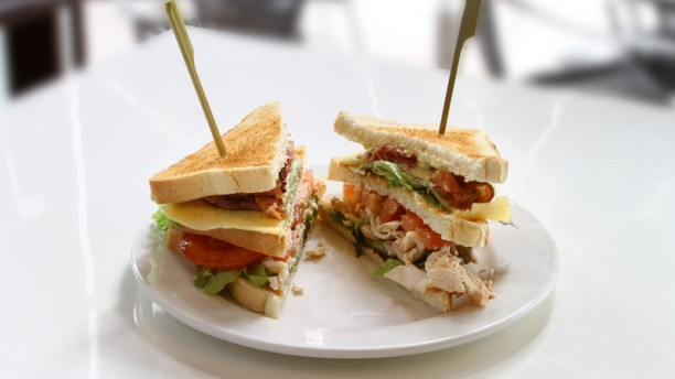 Café Restaurant Orff Club Sandwich