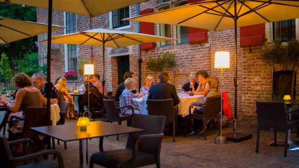 Theater Restaurant Bouwkunde terras
