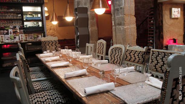 restaurant derri re paris 75003 ch telet les halles beaubourg menu avis prix et. Black Bedroom Furniture Sets. Home Design Ideas