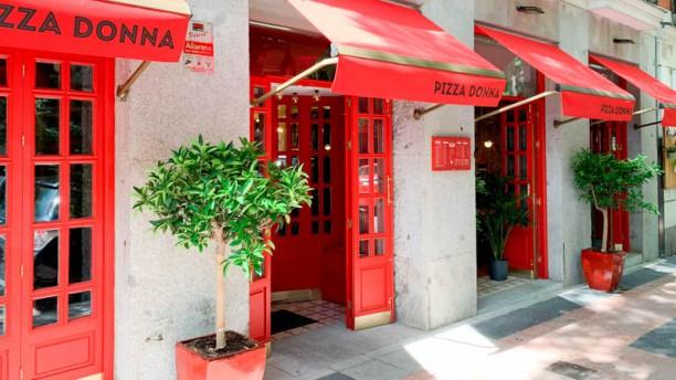 Pizza Donna Fachada