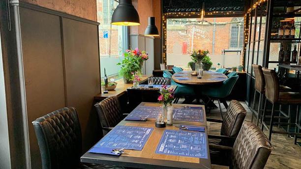 Brasserie de Poort Het restaurant