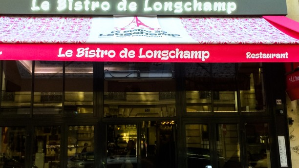 Le Bistro de Longchamp facade