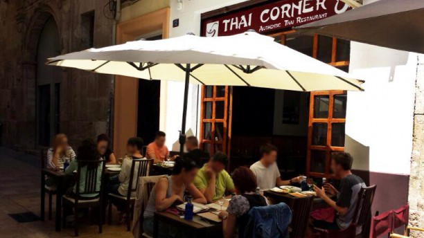 Thai Corner Vista terraza