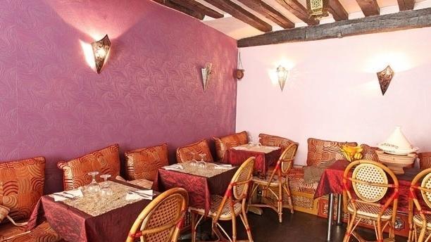 Les Merveilles Du Maroc Vue de l'intérieur du restaurant