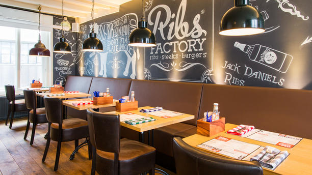 Ribsfactory Nijmegen Het restaurant