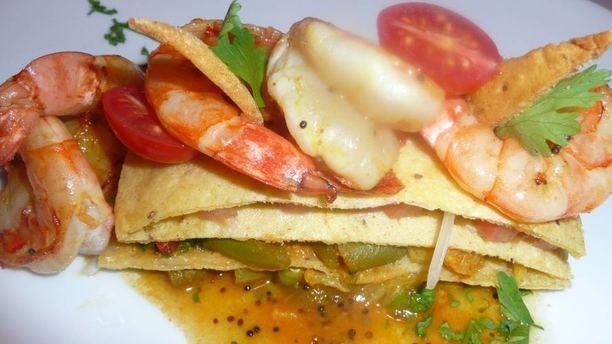 Tamarind camarões
