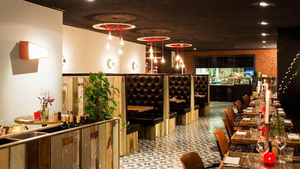 The Colour Kitchen Oude Gracht Het restaurant
