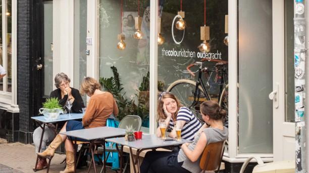 Color Kitchen Utrecht.The Colour Kitchen Oude Gracht In Utrecht Restaurant Reviews