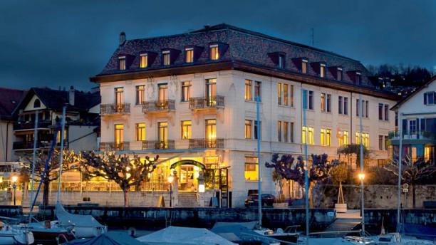Hôtel Restaurant le Rivage vue générale Rivage