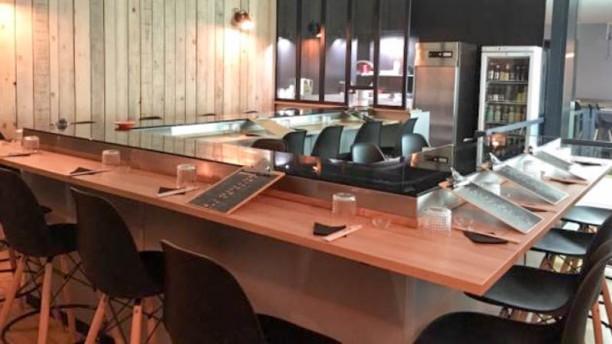 L'Atelier du Sushi et Poke Bowls Vue de la salle