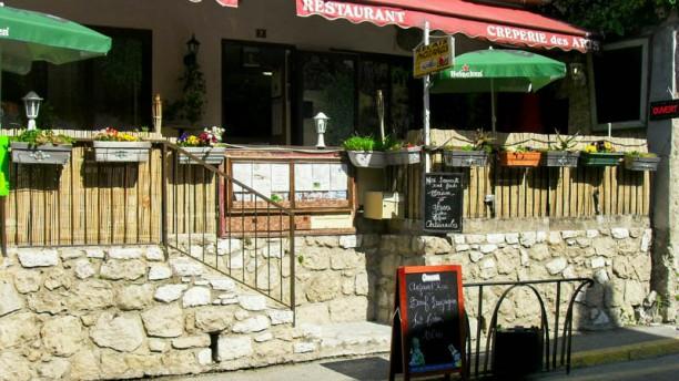 Pizzeria des Arts terrasse