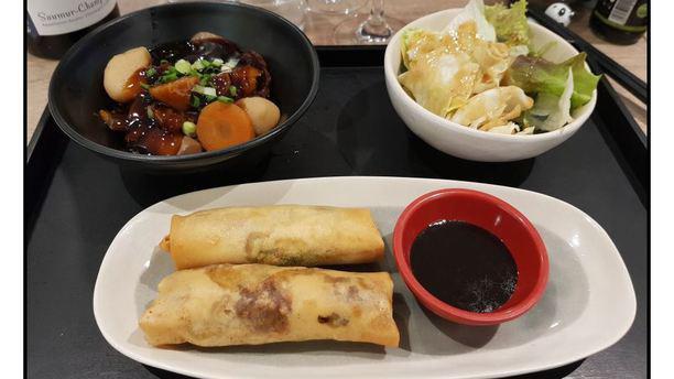 excellent restaurant de cuisine asiatique origina avis de panda co nantes 44000. Black Bedroom Furniture Sets. Home Design Ideas