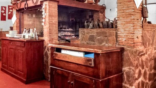 Antica Trattoria La Palombella sala