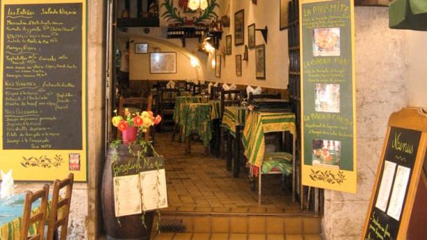 La Taca d'Oli Vue du restaurant