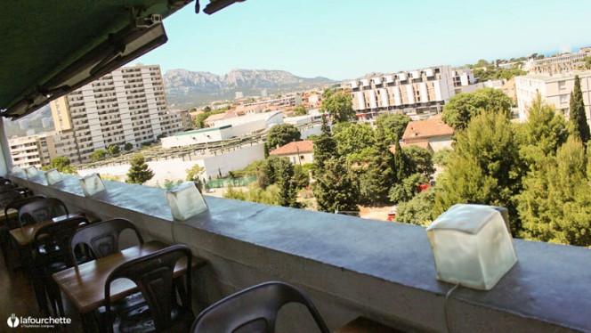 le ventre de l'architecte - Le Ventre de l'Architecte - Hôtel Le Corbusier, Marseille
