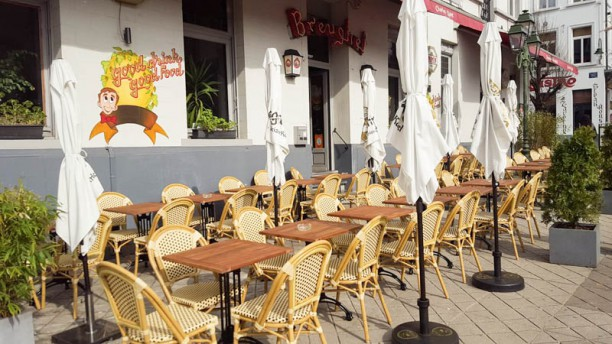 Brasserie Breughel La super terrasse