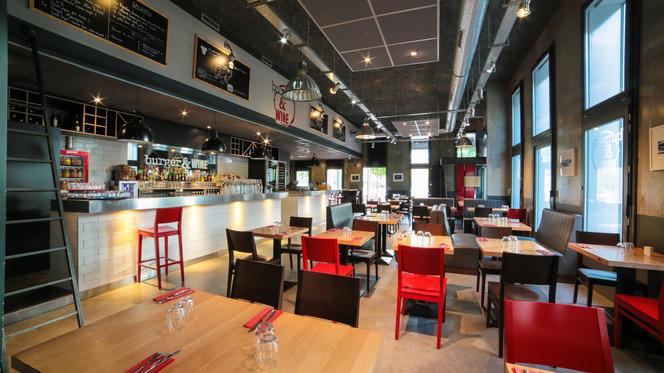Aperçu de l'intérieur - Burger & Wine, Lyon