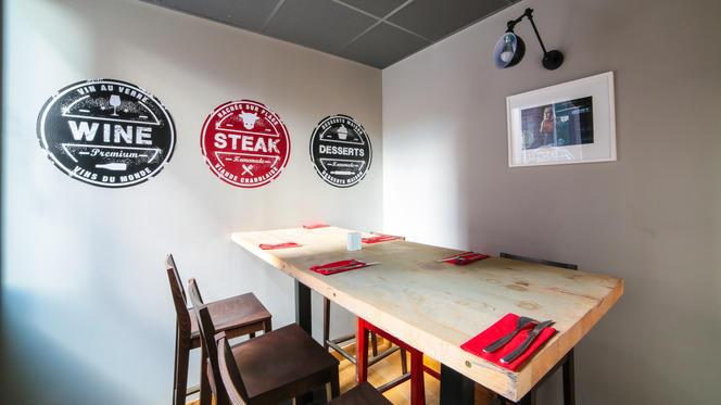 Au comptoir - Burger & Wine, Lyon