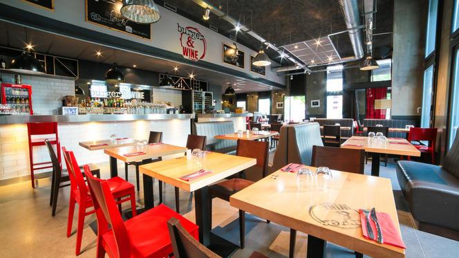 Vue de la salle - Burger & Wine, Lyon