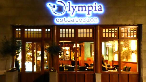 Grieks Restaurant Olympia Ingang