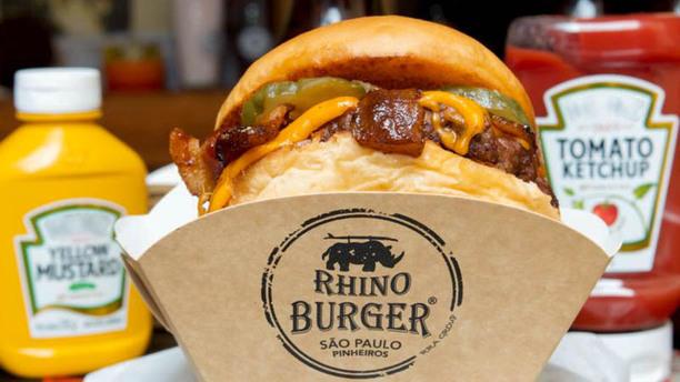 Rhino Burger sugestão prato
