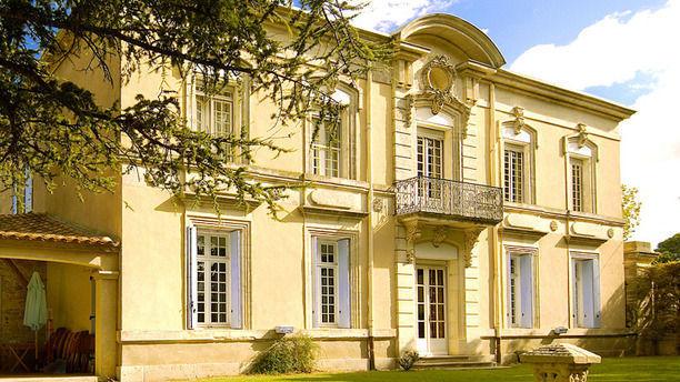Château du Puit es Pratx Facade ensoleillé