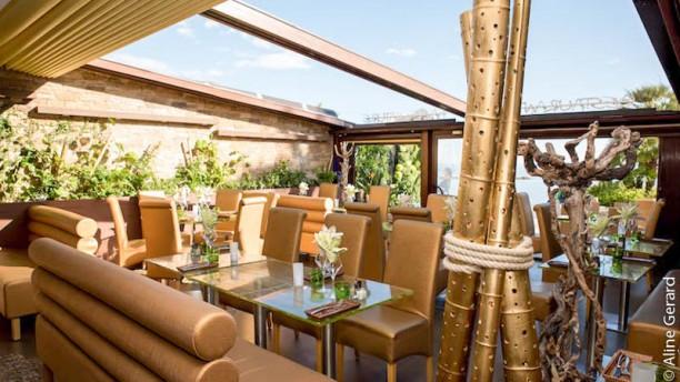 Dame Nature La terrasse à toit ouvrant