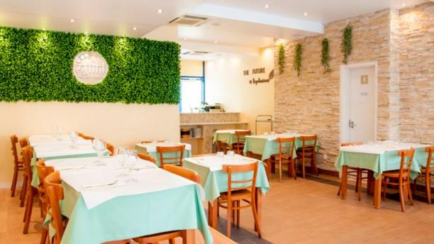 Atithi Indian Vegetarian Restaurant Vista do interior