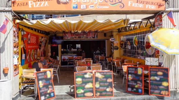 Orange Café Entrada