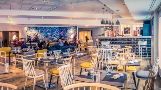 Gourmet Bar by NOVOTEL Vue de la salle